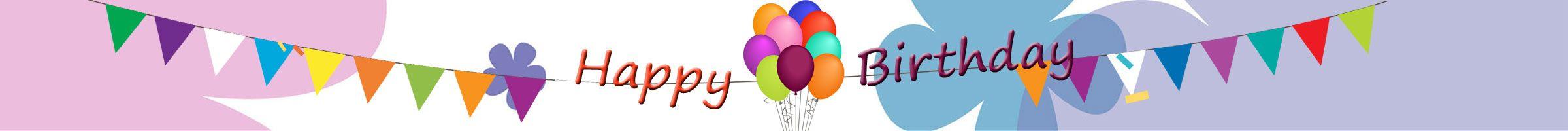Alles Gute zum Geburtstag - Happy Birthday